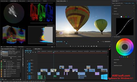 Ảnh chụp màn hình Adobe Premiere Pro cho Windows 8.1
