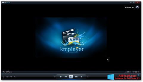 Ảnh chụp màn hình KMPlayer cho Windows 8.1