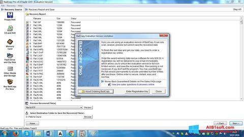 Ảnh chụp màn hình BadCopy Pro cho Windows 8.1