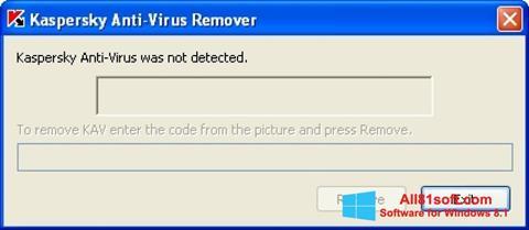 Ảnh chụp màn hình KAVremover cho Windows 8.1