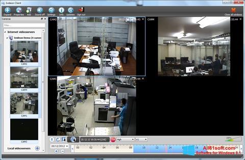 Ảnh chụp màn hình Ivideon Server cho Windows 8.1