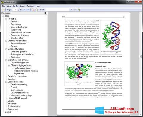 Ảnh chụp màn hình Sumatra PDF cho Windows 8.1