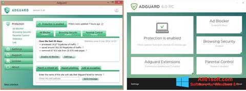 Ảnh chụp màn hình Adguard cho Windows 8.1