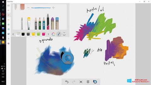 Ảnh chụp màn hình Fresh Paint cho Windows 8.1