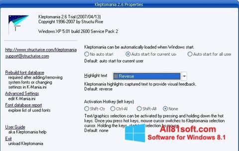 Ảnh chụp màn hình Kleptomania cho Windows 8.1