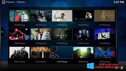 Ảnh chụp màn hình Kodi cho Windows 8.1